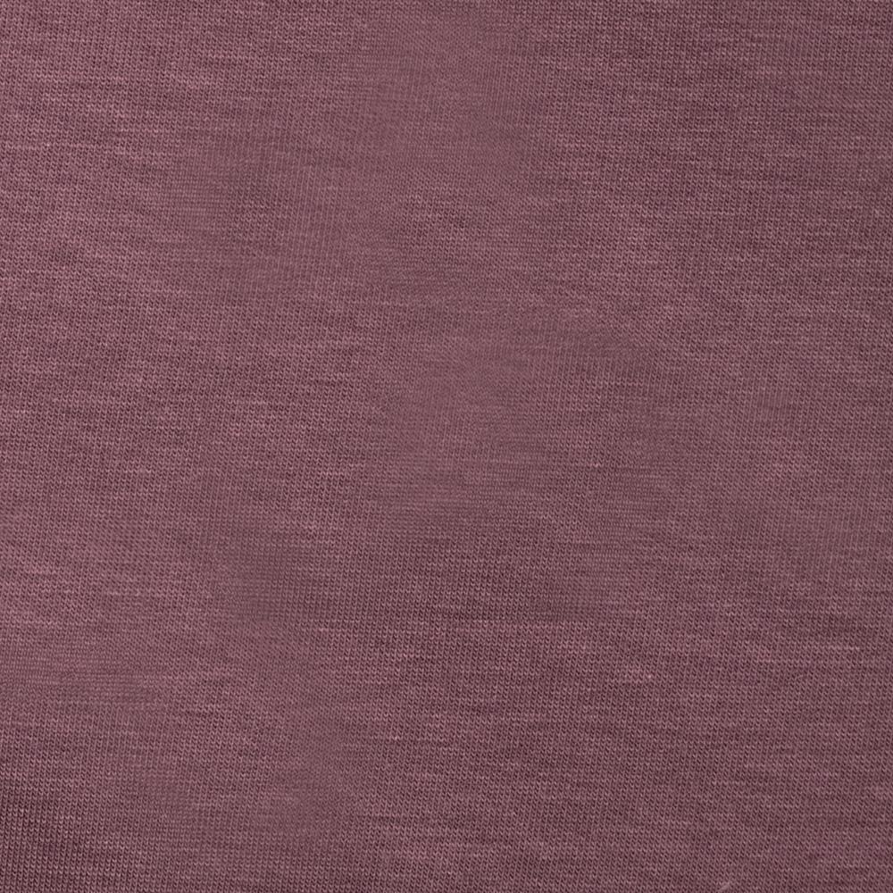 Stretch Micro French Terry Knit Mauve