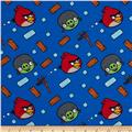Angry Birds Flannel Bounce Blue
