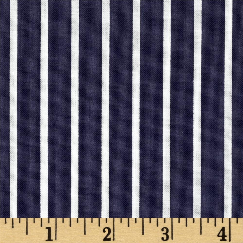 Dear Stella Sea Worthy Pinstripe Navy