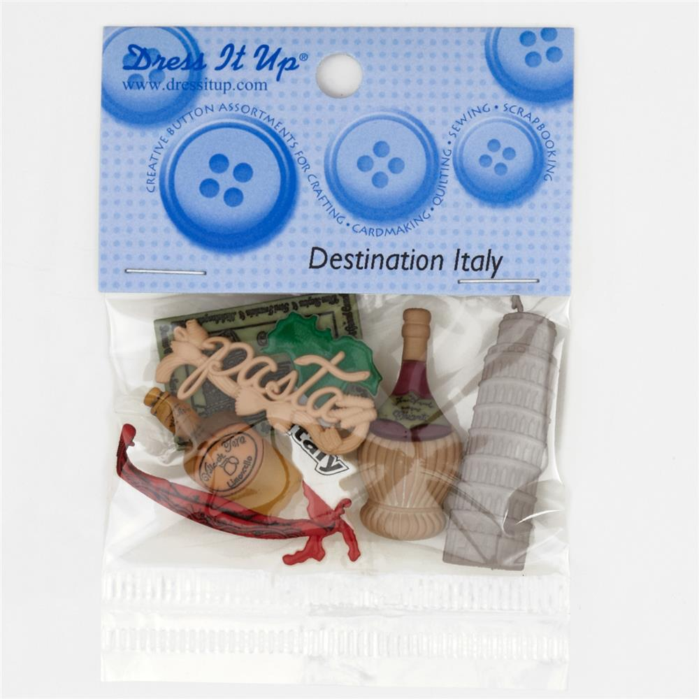 Dress It Up Embellishment Buttons  Italy