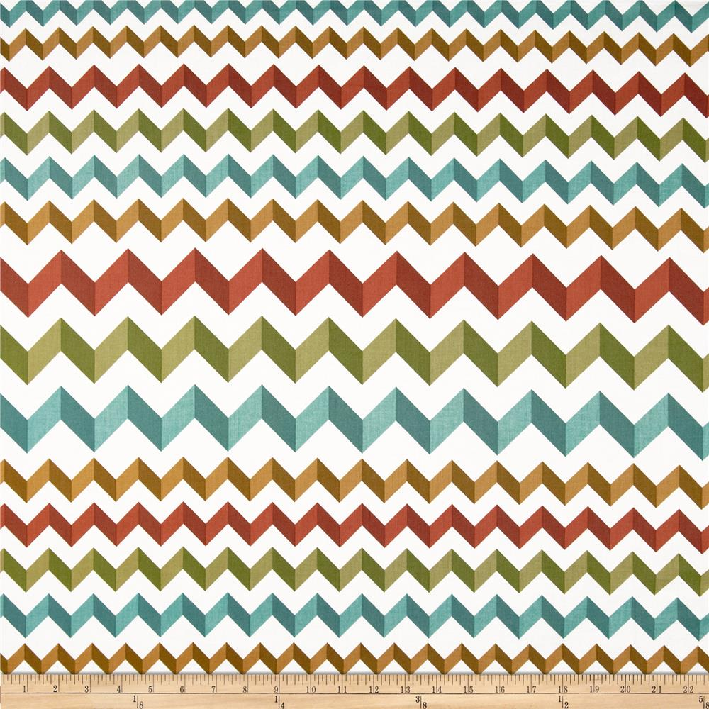 Crinkle Stripe White/Bronze/Blue