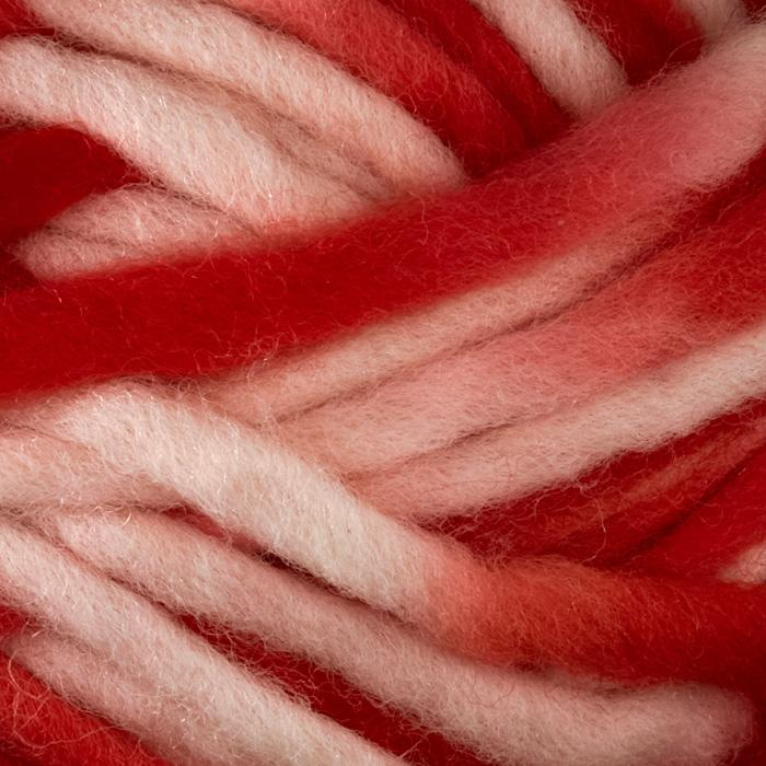 Martha Stewart Roving Wool Yarn (514) Rhubarb