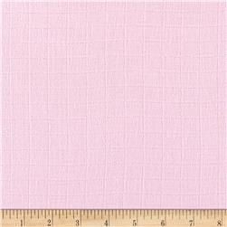 Gauze & Effect Double Gauze Solid Light Pink