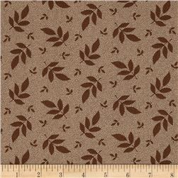 Hannah's Heritage Tossed Leaf Brown