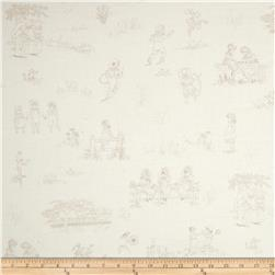 Lecien Kate Greenaway Scenic Cream Toile