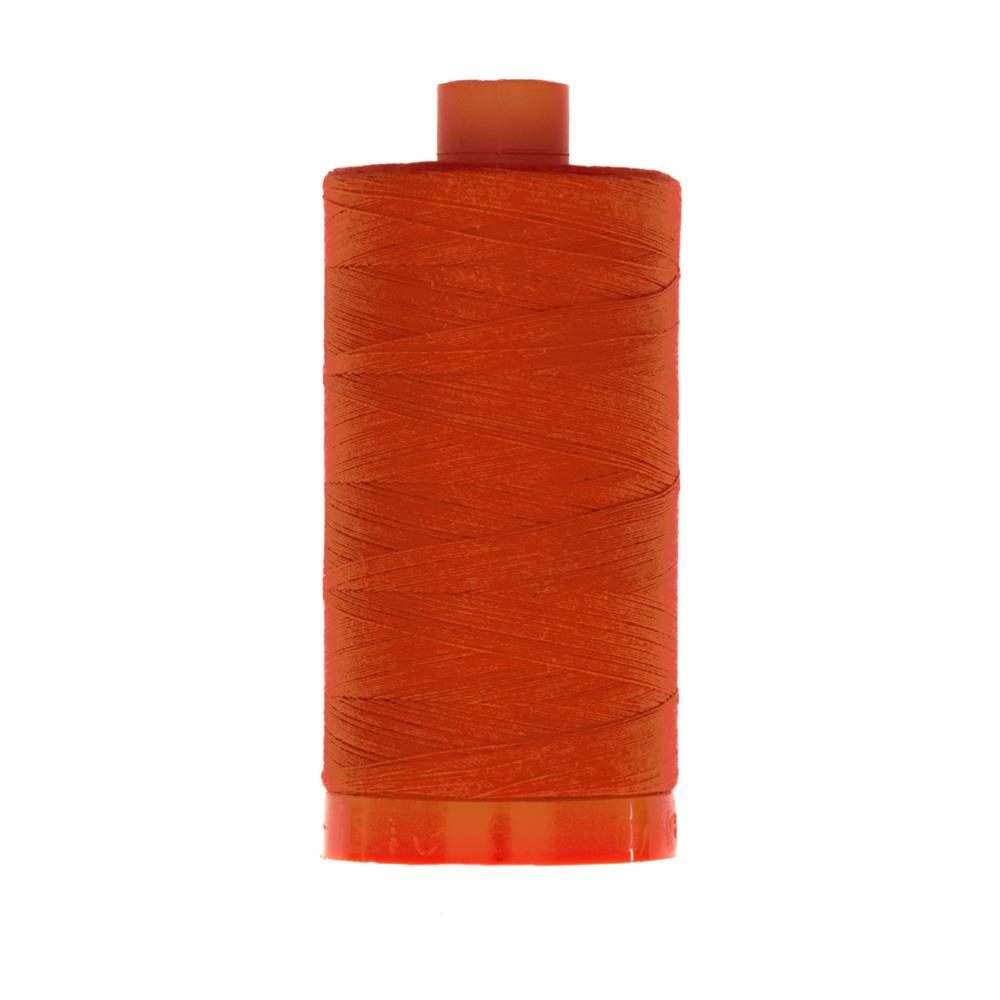 Aurifil Quilting Thread 50wt Red Orange