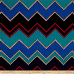 Liverpool Double Knit Chevron Multi