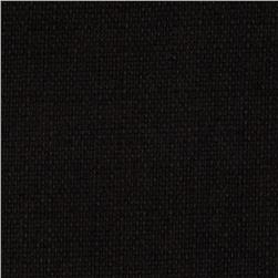 Hollywood Water Repellent Upholstery Black Fabric