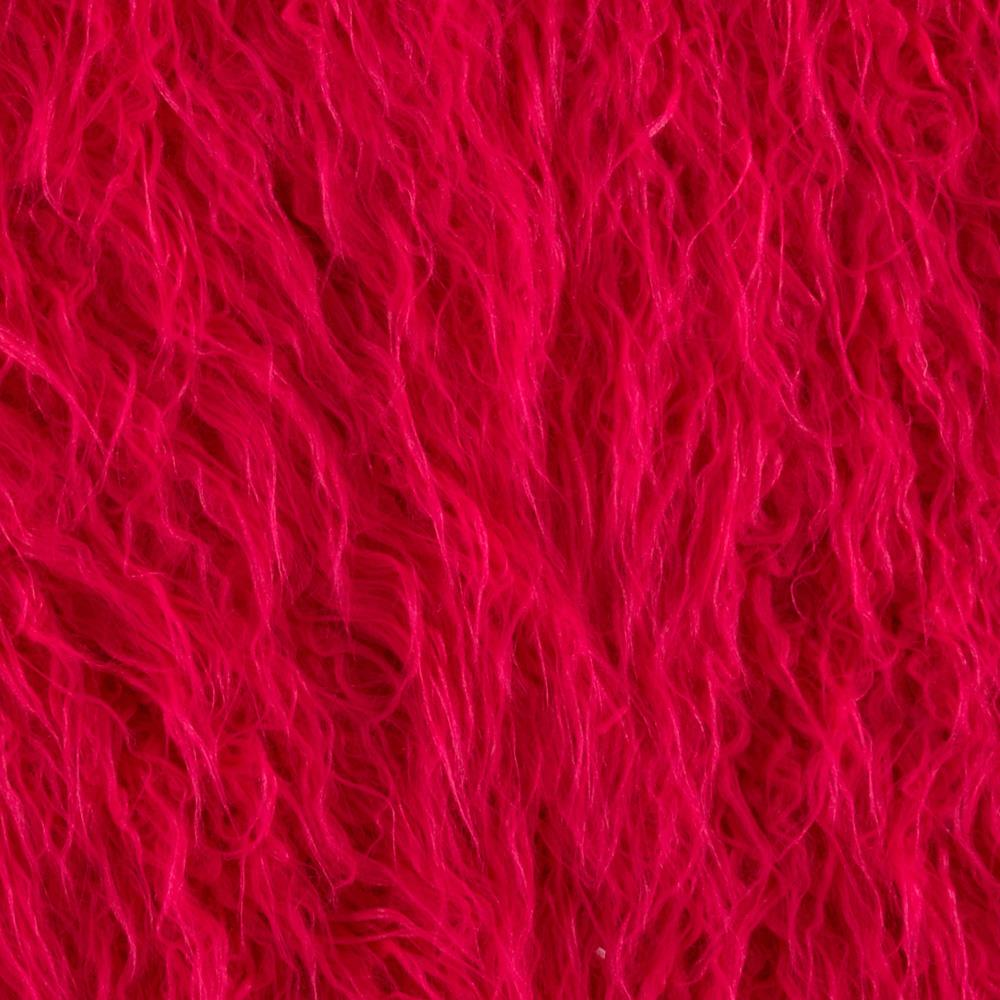 Faux Fur Lofty Mongolian Fur Fuchsia