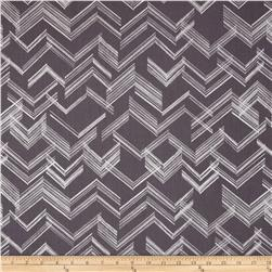 Simply Sterling Metallic The Right Angle Grey/Silver Fabric