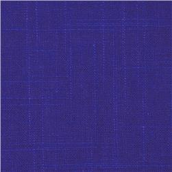 Robert Allen @ Home Linen Slub Ultramarine Fabric