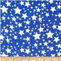 Yoryu Chiffon Stars Dots White/Royal