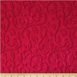 Minky Vine Cuddle Fresa Fabric