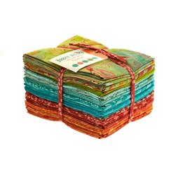 Moda Bobbins and Bits Batiks Fat Quarter Assortment