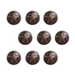 Brass Large Dome Star 24pc