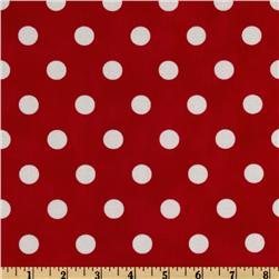 Moda Dottie (#45008-12) Red/White Fabric