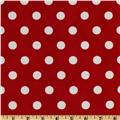 Moda Dottie Red/White