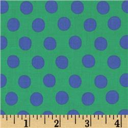 Kaffe Fassett Collective Spot Green Fabric