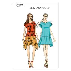 Vogue Misses' Dress Pattern V8968 Size 0Y0