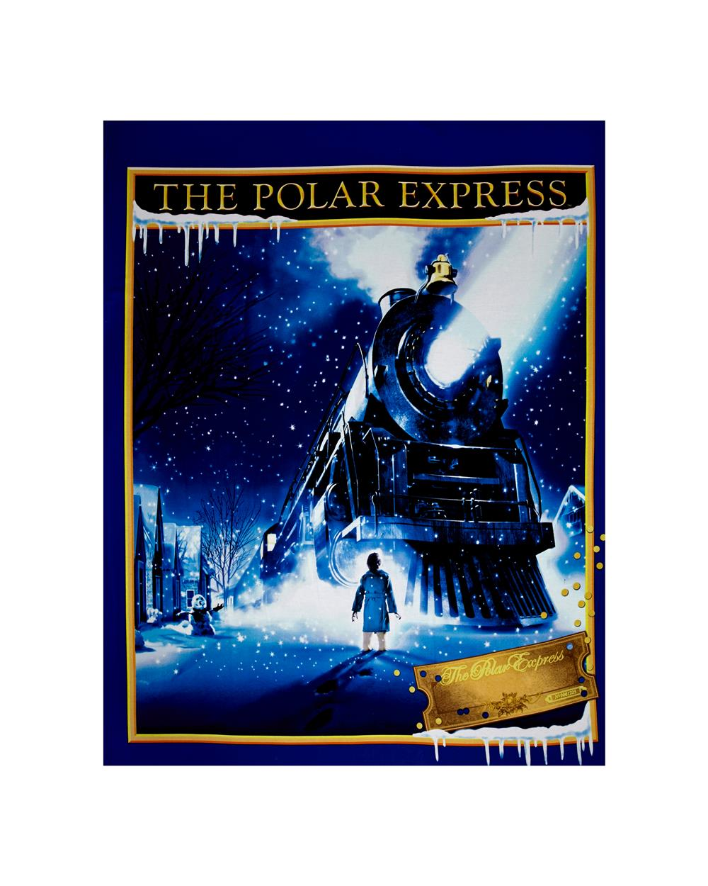 Polar Express 36 In. Panel Multi