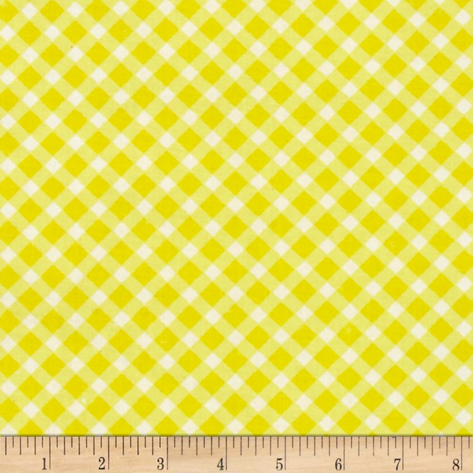 Sanyo Plaid Yellow