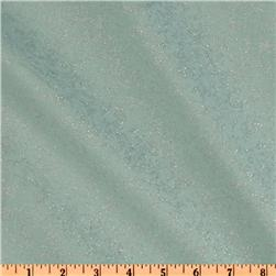 Michael Miller Fairy Frost Glitz Wave Blue Fabric
