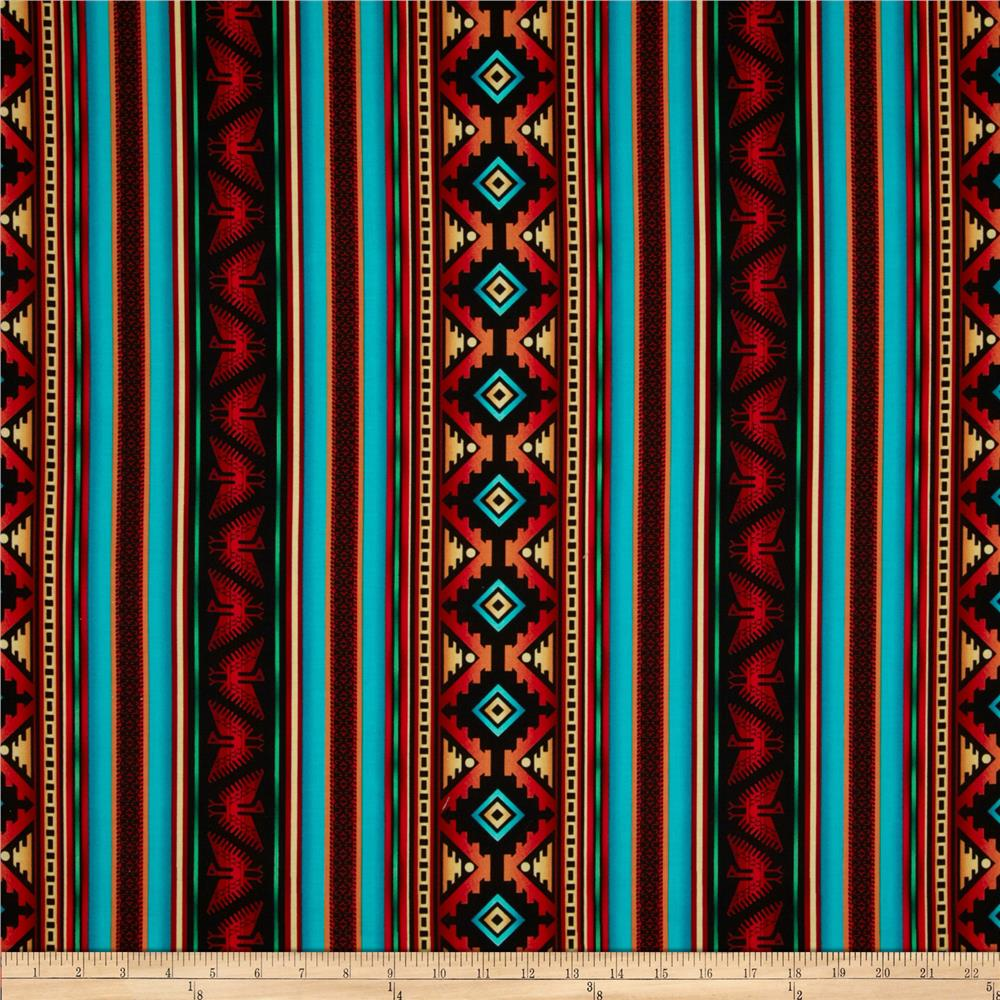 Timeless Treasures Southwest Stripe Terra