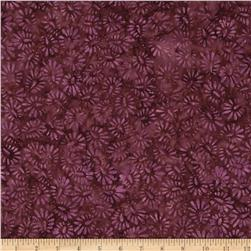 Wilmington Batiks Wild Seeds Orchid/Brown