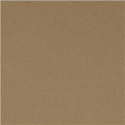 Kaufman Uniform Basics Ventura Microfiber Twill Khaki Fabric