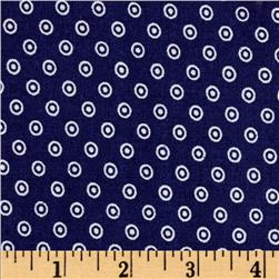 Dots and More Dots Navy