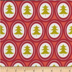Treelicious Jingle Bell Red Fabric