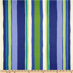 Robert Allen Promo Indoor/Outdoor Beachfront Stripe Marine