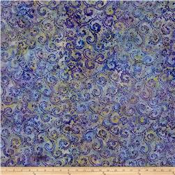 Anthology Batik Vine Purple/Aqua