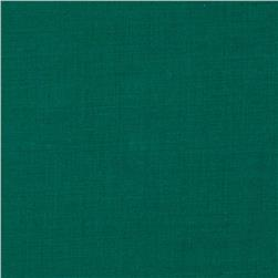 Cotton Blend Broadcloth Light Hunter Green