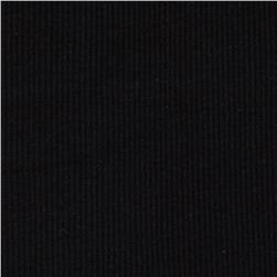 Basic Cotton Rib Knit Black