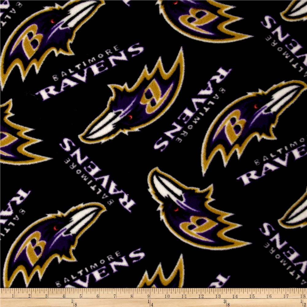NFL Fleece Baltimore Ravens Toss Black/Purple