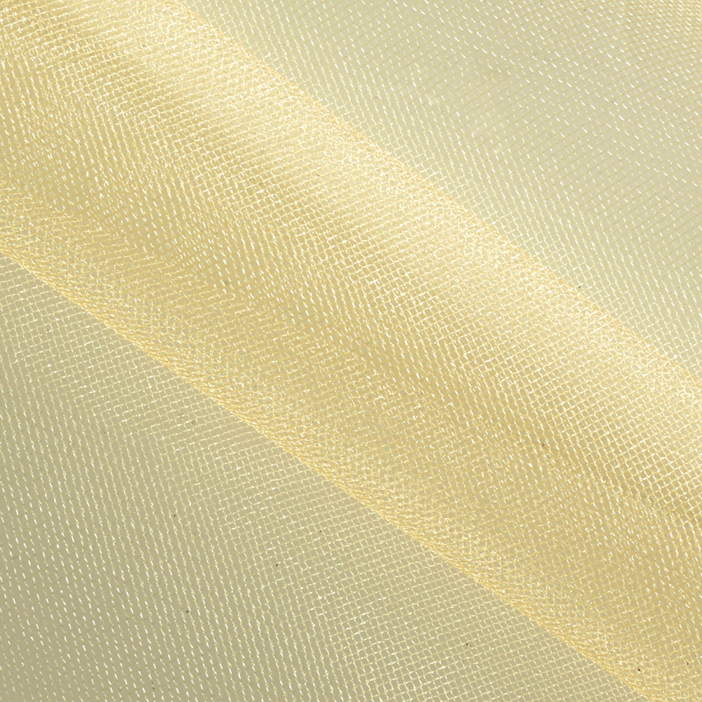 Shiny Tulle Gold Fabric