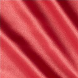 Stretch Satin Charmeuse Coral