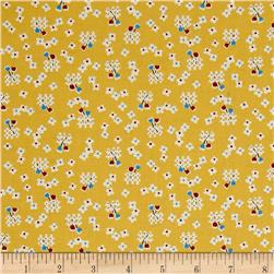 Penny Rose Toy Chest 2 Floral Yellow