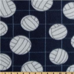 Novelty Fleece Volleyball Navy