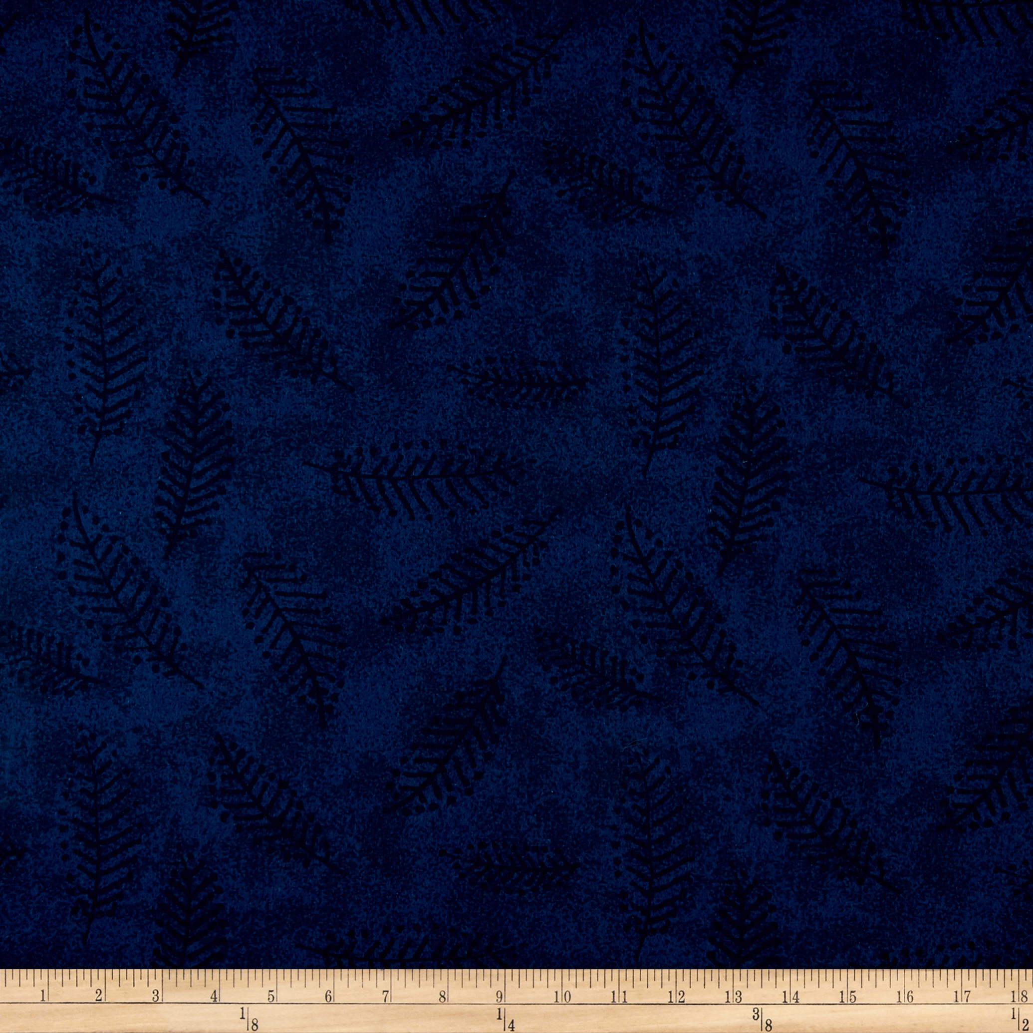110'' Wide Flannel Quilt Back Fern Teal Fabric by Westrade in USA