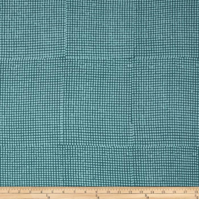 Bali Batiks Hand Dyed Dots Dusty Teal