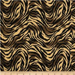 Newcastle Flannel Tiger Print Amber