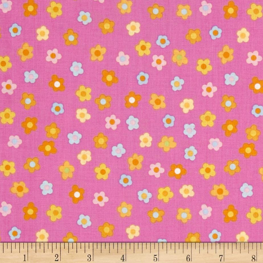 Kitschy Kawaii Mini Floral Pink/Multi