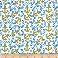 Whale's Adventures Anchors Yellow