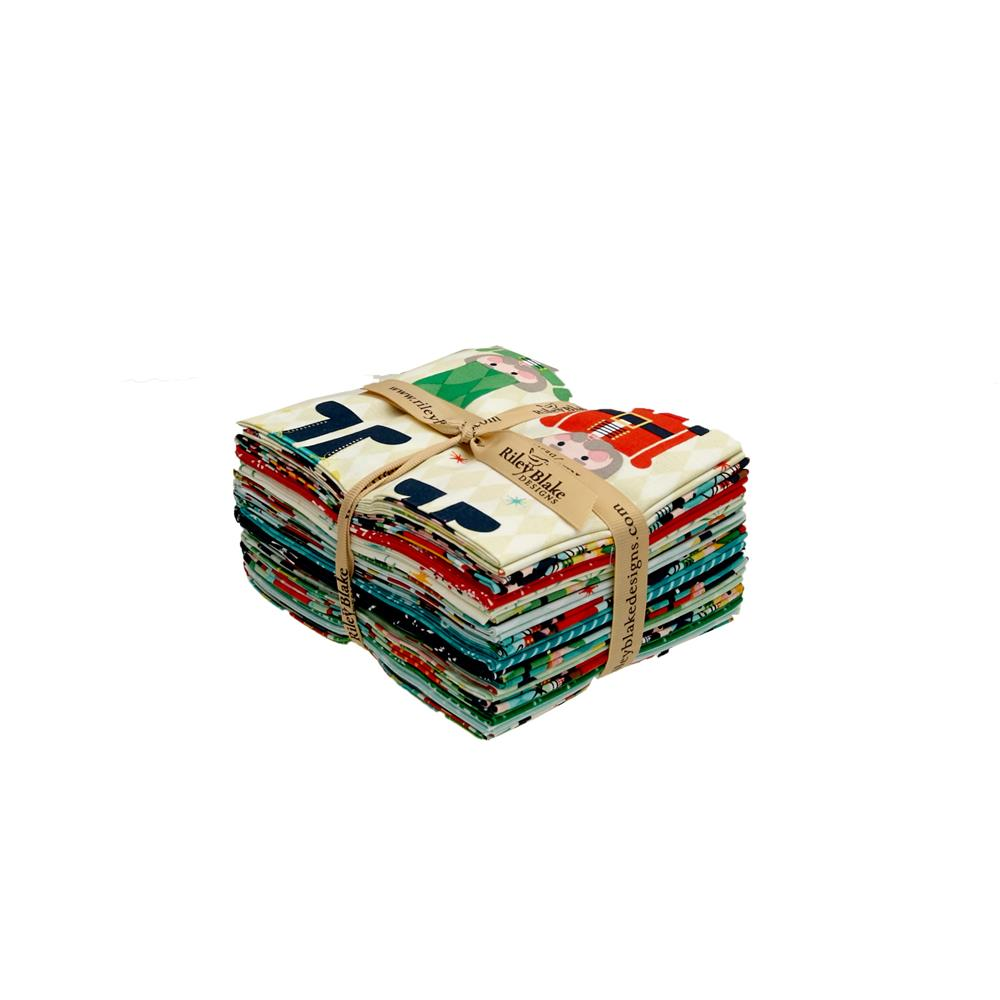 Riley Blake Nutcracker Christmas Fat Quarter