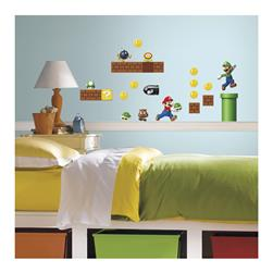 Super Mario Build A Scene Wall Decal