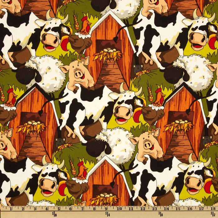 Funny Farm Animals Olive