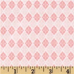 Riley Blake A Beautiful Thing Flannel Diamonds Pink