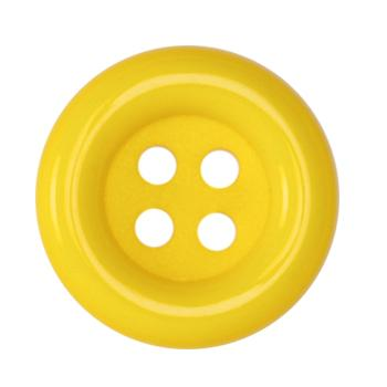 Fashion Button 1 1/2'' Pizazz Yellow